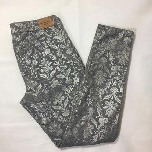 Abercrombie & Fitch floral pants size 10